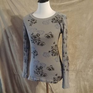 3 for 12$ Sale Decree Large Gray Floral Thermal